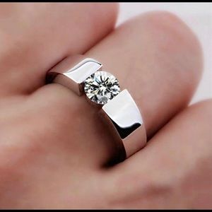 Other - Solitaire Promise 2 Carat Men's Ring